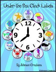 Under The Sea Classroom Birthday Chart