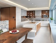 Great Oversize Kitchens How to Include Comfortable Dining Space