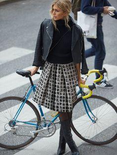 Pleated Midi Skirt 11/2014