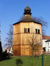 Sezemice - dřevěná zvonice Shed, Outdoor Structures, Lean To Shed, Backyard Sheds, Coops, Barn, Tool Storage, Sheds