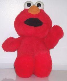 Hahahahoo, Elmo That Tickles! His Nose Looks Like A Carrot Like Olaf, He's Cute Too