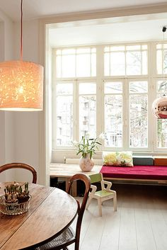 a beautiful home in amsterdam by the style files, via Flickr