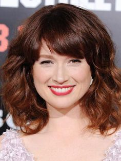 Ellie Kemper dark red hair