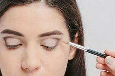 Audrey Hepburn makeup tutorial, Breakfast at Tiffany's beauty, cat eye eyeliner