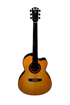 Metheny-Manzer Signature 6 Limited Edition Acoustic Guitar. Check out the inlaid neck.