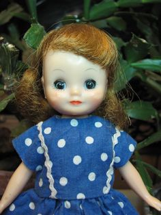 my Betsy McCall doll, I still have her.  My Grandma made all her clothes.