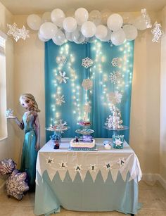 Backdrop Diy Frozen Party Ideas - Frozen Disney Birthday Party Ideas Elsa Birthday Party Frozen Easy Frozen Party Backdrop Frozen Bday Party Frozen Party This Backdrop Is Amazing For A. Elsa Birthday Party, Frozen Themed Birthday Party, Disney Frozen Birthday, 6th Birthday Parties, Frozen Disney, 4th Birthday, Geek Birthday, Ninja Turtle Birthday, Birthday Desserts