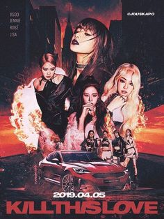 190330 'kill this love' comeback poster concept : blackpink Blackpink Poster, Poster Prints, Blackpink Memes, Kpop Posters, Black Pink Kpop, Fan Art, Blackpink Photos, Photo Wall Collage, Best Friends Forever