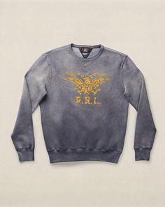 Fleece Graphic Sweatshirt - RRL Sweatshirts - RalphLauren.com