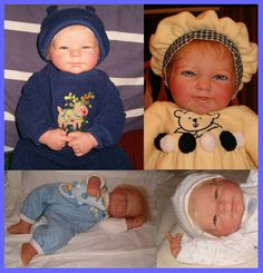 Reborn dolls sell for upwards of $1000 or more online! Make your own - in just a day! How to Reborn a Doll in a Day - http://booklocker.com/books/1670.html