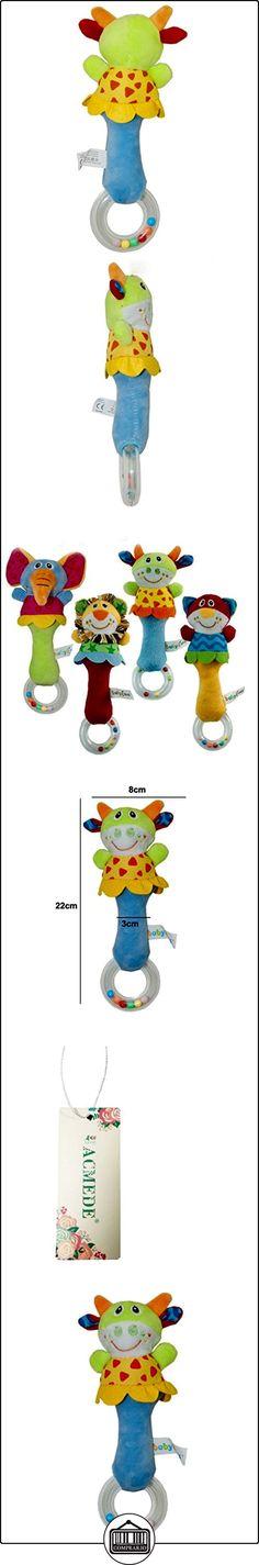 Animal Forma Bibi Stick Bell sonajero-Juguete de agarrar para bebé Bull  ✿ Regalos para recién nacidos - Bebes ✿ ▬► Ver oferta: http://comprar.io/goto/B01DVWDV40