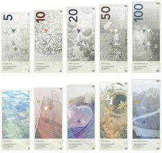 Billetes estadounidenses minimalistas