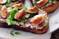 Food: Culinary Crumbs - culinarycrumbs.com/  Read More: http://www.stylemepretty.com/living/2012/10/28/fall-recipe-fig-bruschetta/