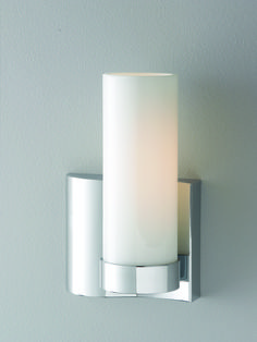Wave 1 Light Left Side Sconce : 6YQWC | Luminatory