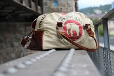 Elephbo - 2015 Series. Italian leather meets Cambodia cement packaging material Phan, Italian Leather, Cambodia, Cement, Messenger Bag, The Past, Satchel, Packaging, Bags