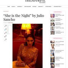"""#New #story for @trendprivemagazine !!!! ➡️Link in the info ⬆️ """"SHE IS THE NIGHT"""" for @trendprivemagazine  with #wardrobe from @esthernoriega & @rubenhernandezcostura_  #photography :Julio Sancho @jsanchophotography  Estilismo/ #styling : Ele García @elegarciastyle Modelo - Andrea Arroyo Ruíz @andre_arroyo5  #makeup /#Maquillaje y #peluquería Paola Darnelly @paola_darnelly_makeup Dirección Creativa/ #creativedirector : Manuela Suarez @suarez.manuela. #collaborates: @fashandcom  #model…"""