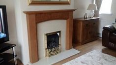 Sent in by Anne Marie Inglis. The Lyndhurst #oak fire surround. let us know what you think... Oak Fire Surround, Fireplace Surrounds, Solid Oak, Photos, Design, Home Decor, Pictures, Decoration Home, Room Decor