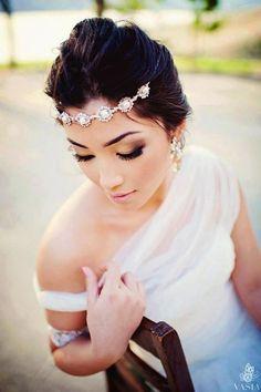 maquiagem e penteado de noiva