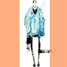 « Raf Simons\'s menswear obsession#inspiration #instart #instadraw #instasketch #instafashion #colors #art #arte #menfall2016 #mensfashion #rafsimonsfall2016… »