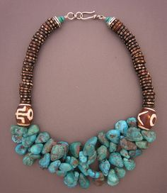 anna holland jewelry | Necklace | Anna Holland ~ Dorje Designs. Two ceramic ... | Jewelry