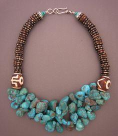 anna holland jewelry   Necklace   Anna Holland ~ Dorje Designs. Two ceramic ...   Jewelry