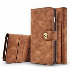 >> Click to Buy << New luxury 2in1 Separable Retro Leather phone Case for Apple iphone 6 6S / 6 6S plus card wallet Cover phonebag   #Affiliate
