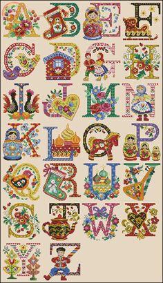Cross Stitch Letters, Cross Stitch Borders, Modern Cross Stitch, Cross Stitch Flowers, Cross Stitch Kits, Cross Stitch Designs, Cross Stitching, Cross Stitch Embroidery, Stitch Patterns