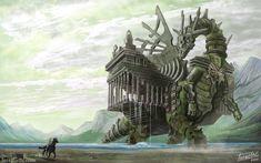 Colossus by isra-ac.deviantart.com on @deviantART