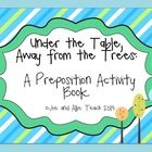 Speech: location words /prepositions packet with lots of fun activities, tips, letters to parents, and more!