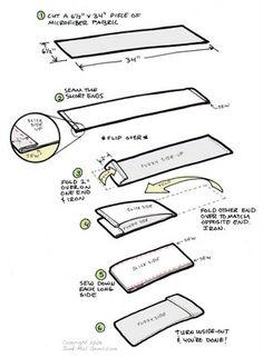 DIY - Make Your Own Cloth Diaper Insert Sock