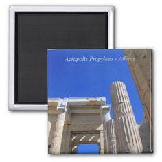 Acropolis Propylaea - Athens Fridge Magnet
