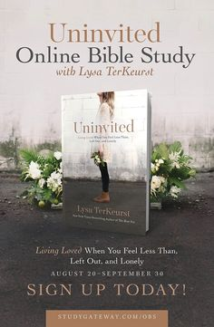 107 best bible study images on pinterest bible studies online join the uninvited online bible study with lysa terkeurst get access to 6 free teaching videos fandeluxe Images