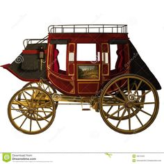 Western Stagecoach 1 Stock Photos - Image: 18570453