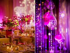 These will be my wedding colors. Pink and purple or turquoise and purple. Gorgeous!
