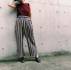 Culottes pants and #LinceShoes #Bontre
