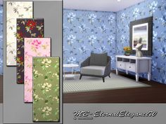 Sims 4 CC's - The Best: Walls by Matomibotaki