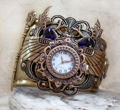 Steampunk Watch - Egyptian 3 by Aranwen.deviantart.com on @DeviantArt