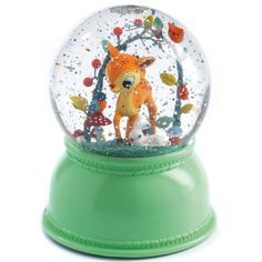 nachtlampje-sneeuwbol-hert