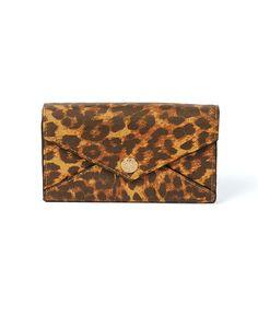 Rebecca Minkoff Leopard Print Mini Crossbody Wallet on Chain