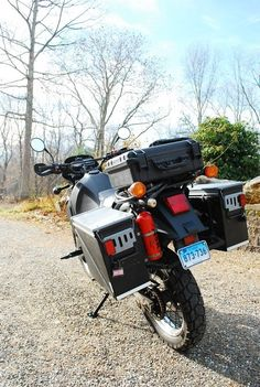 Nice ammo cans on a KLR Motorcycle Adventure, Motorcycle Touring, Dr 650, Ammo Cans, Panniers, Dual Sport, Adventure Tours, Taco Tuesday, Custom Motorcycles