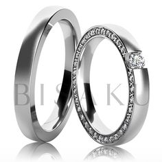 Snubní prsteny White W14915 Wedding Bands, Rings For Men, Engagement Rings, Jewelry, Weddings, Model, Enagement Rings, Men Rings, Wedding Rings