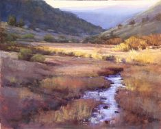 Out of Yellowstone Amanda Houston, pastel