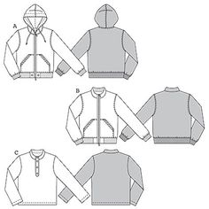 Category Mens Jackets Sweat Jacket With Knitted Waistband Cuffs And cakepins.com
