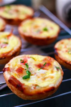 Mini Breakfast Quiches via Rasa Malaya