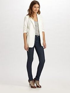 Lovely white blazer