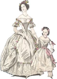 Victorian Era Ball Gowns | Ball dress 1838