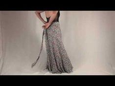 Corte e Costura Saia Longa Mullet Envelope para Iniciantes - YouTube