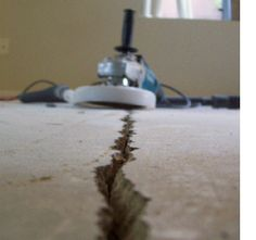 Cracks in concrete happen all the time as a result of shrinkage or movement. As concrete cures and dries out it has a tendency to shrink, an...