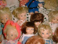 Uneeda PeeWee dolls: So cute!