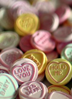Always loved Valentines Day. Heart Day, Love Heart, Favorite Candy, Favorite Holiday, Valentine Cookies, Happy Valentines Day, Old Fashioned Candy, Happy Hearts Day, Colorful Candy